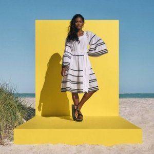 Lisa Marie Fernandez x Target Ric Rac Flarę Dress